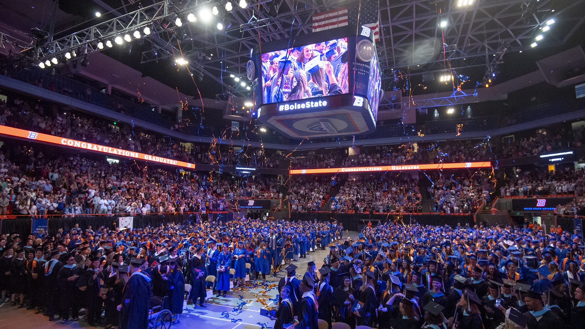 Spring Commencement 2019, Graduation, John Kelly photo.