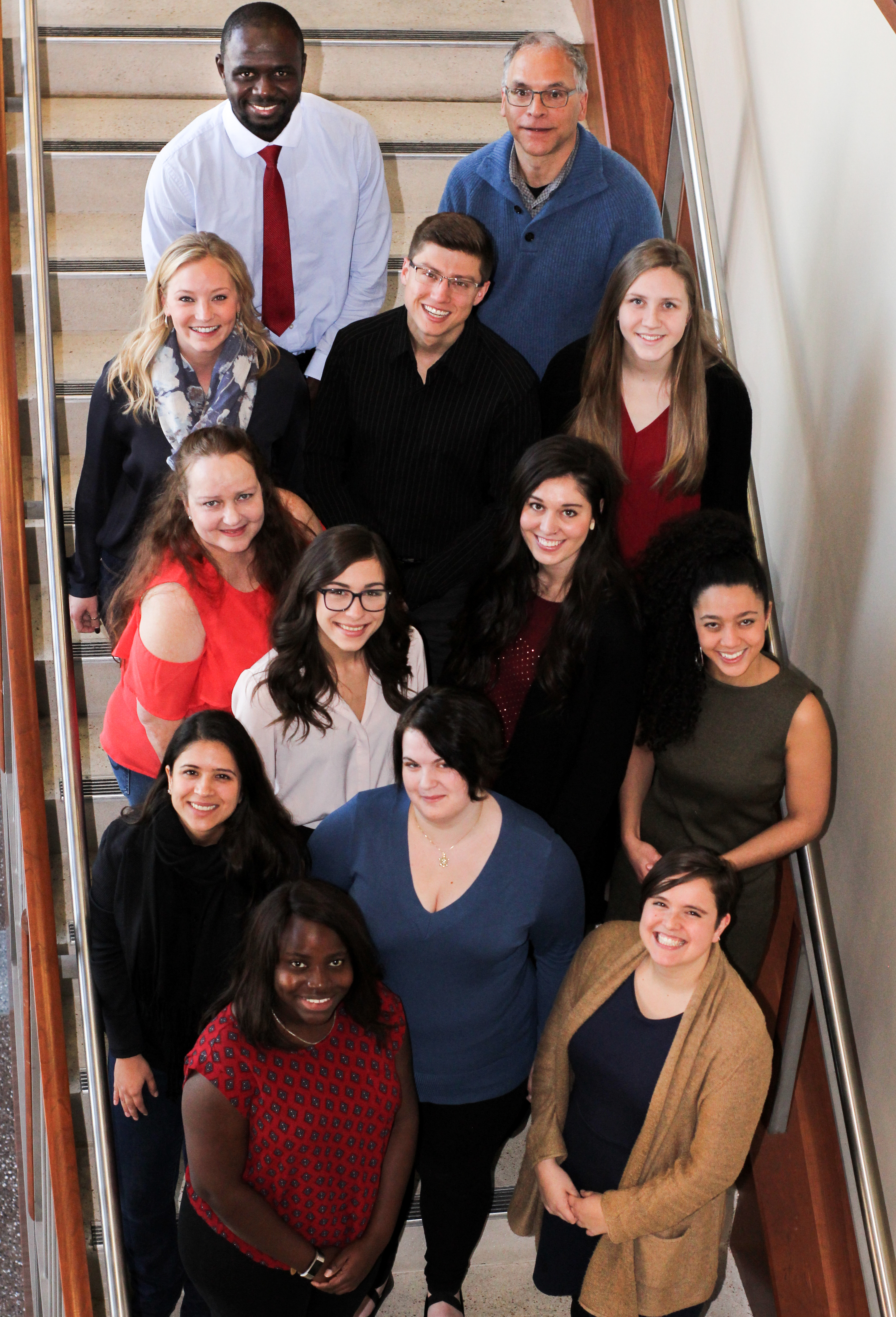 Group of students and fellow that created the last sustainability report.