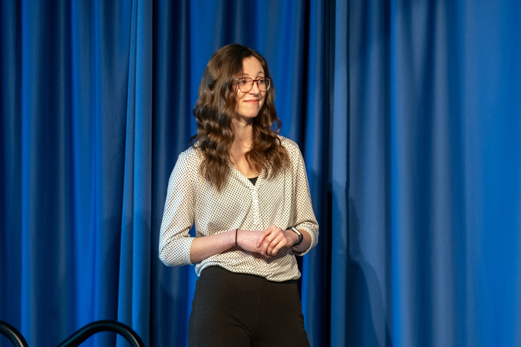 Rachel Phinney at 3MT Competition