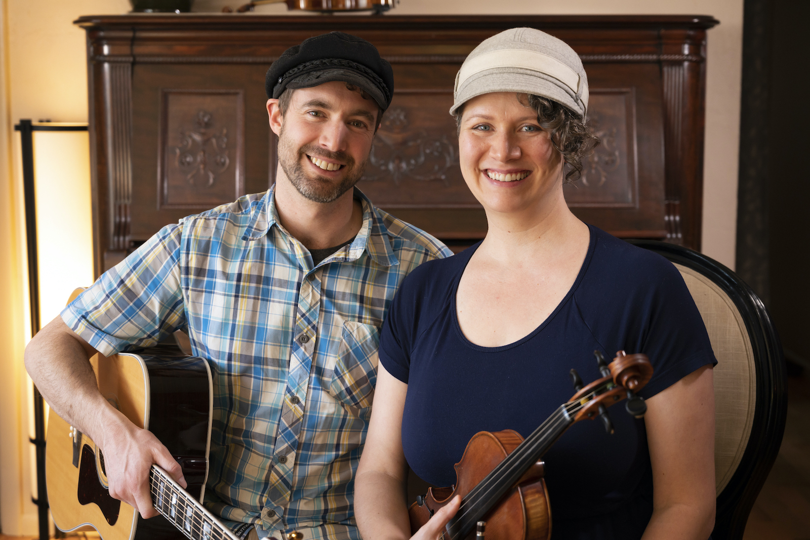 Boise Music Lessons owners Marcus and Angie Marianthi, for Beyond the Major profile, John Kelly photo.