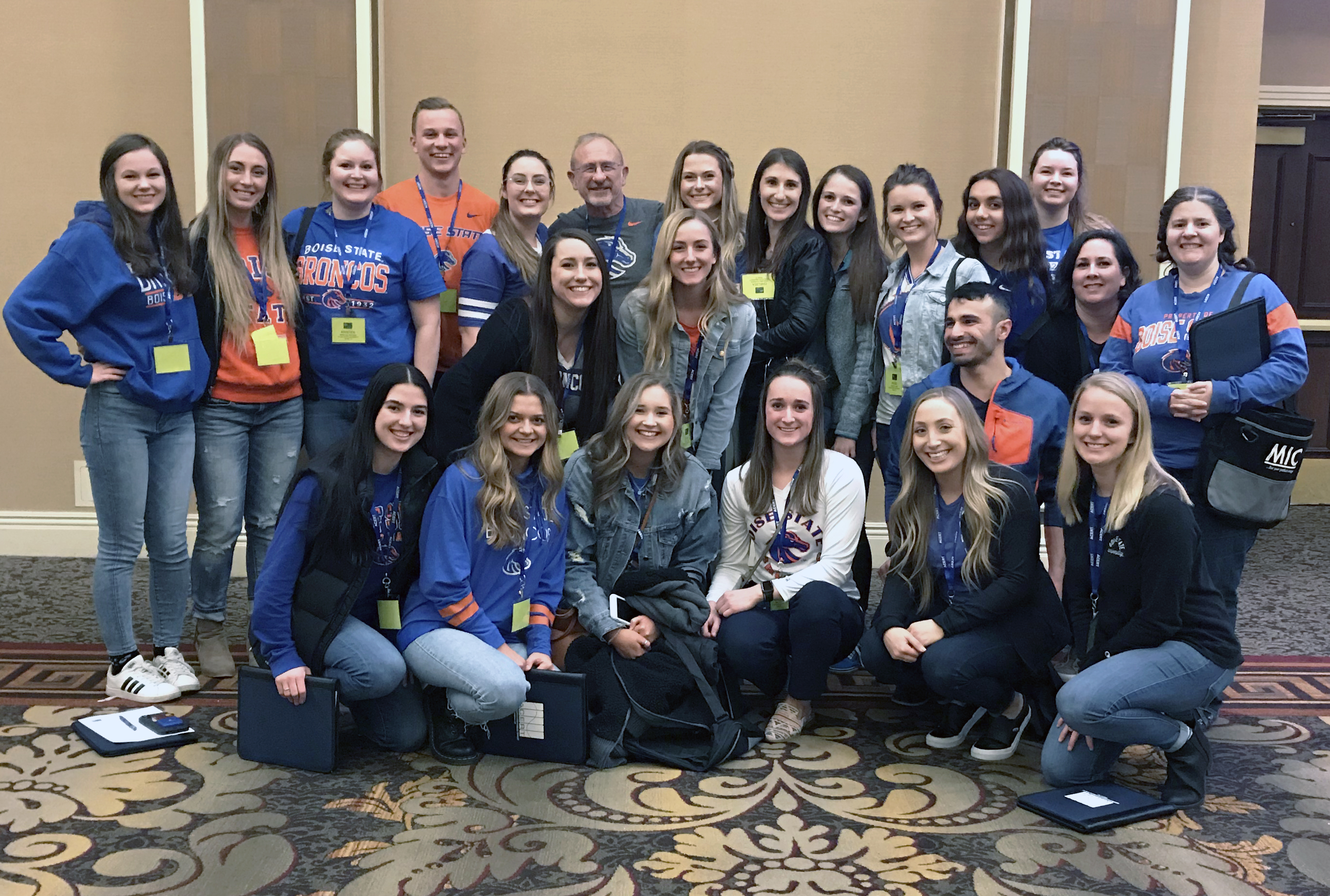 All Boise State Radiologic Science students that traveled to the conference.