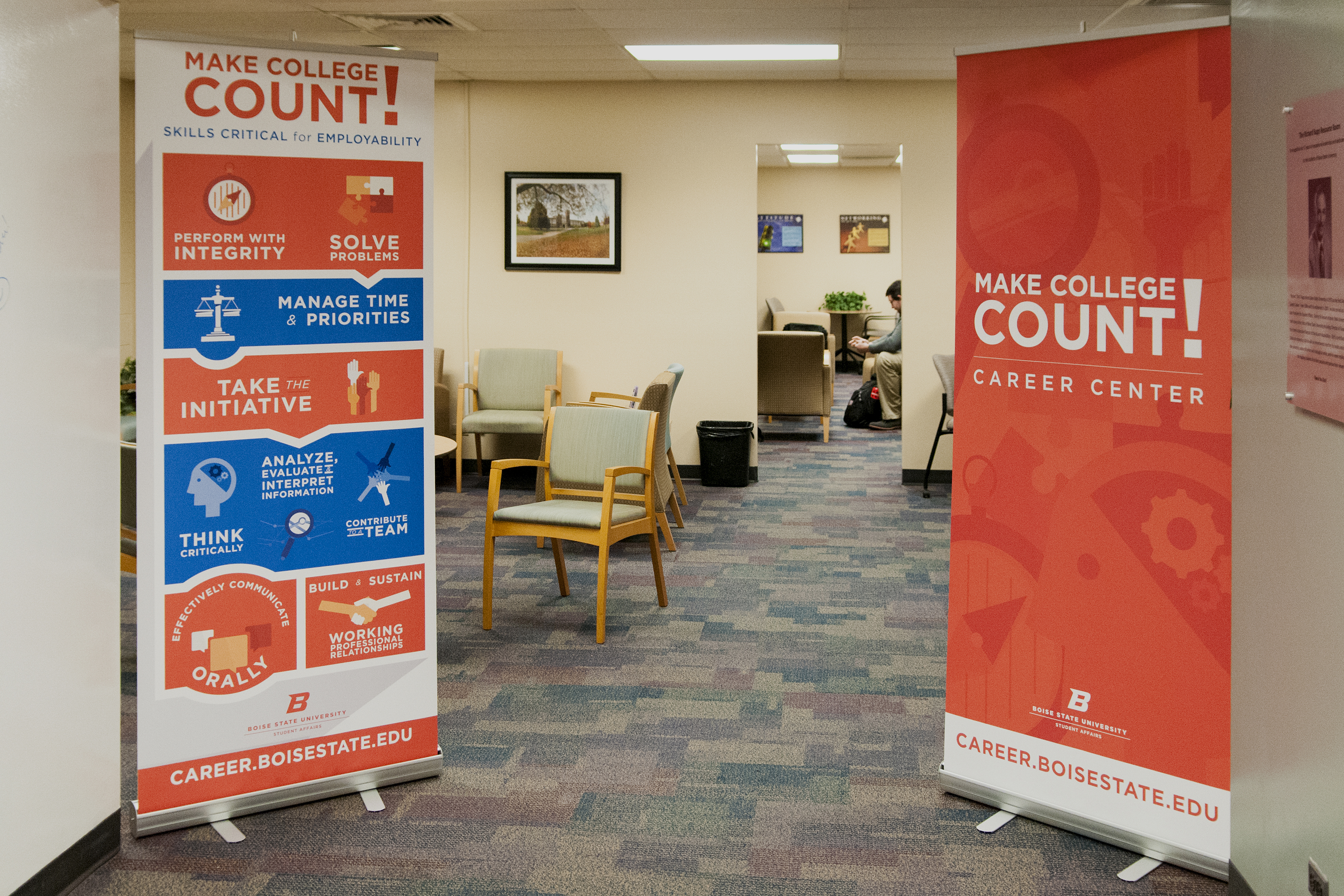 Career Center Banners