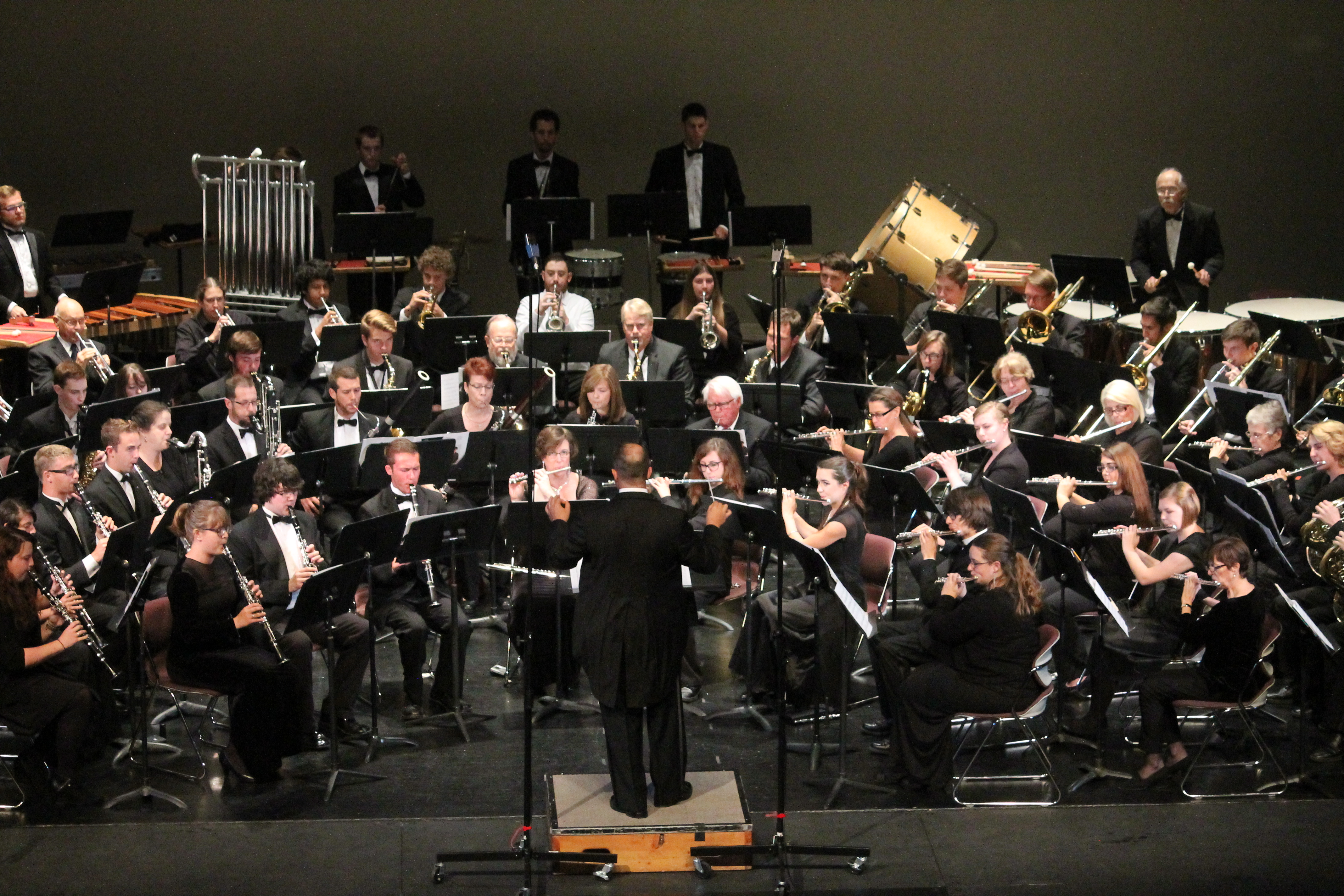 All campus band concert