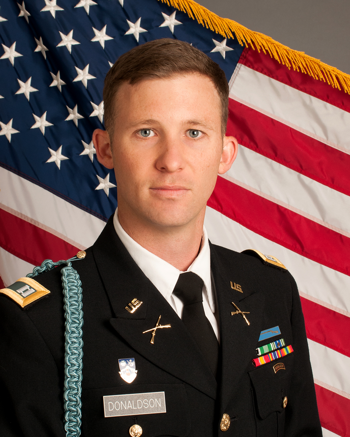 CPT Ryan Donaldson, Military Science portraits, Photo by Emma Thompson