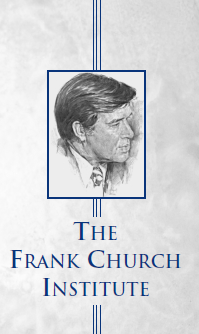 Photo of Frank Church Institute logo