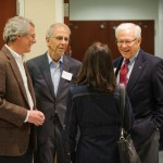 Photo of attendees at reception