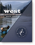 Life in the West book cover