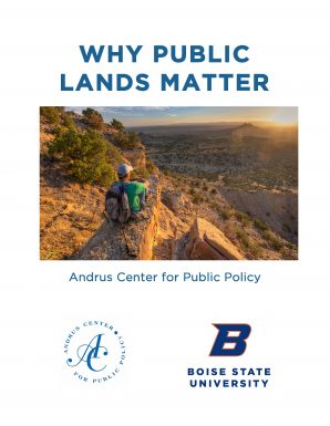 Image of Why Public Lands Matter booklet