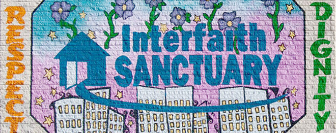 Interfaith Sanctuary Mural - Respect and Dignity