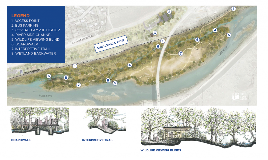 Proposed Map of the Project