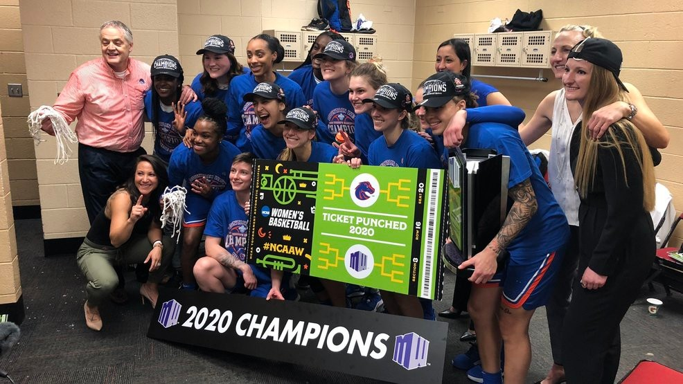 2015, 2017–2000: Boise State Women's Basketball win Mountain West Conference championship five times in six years