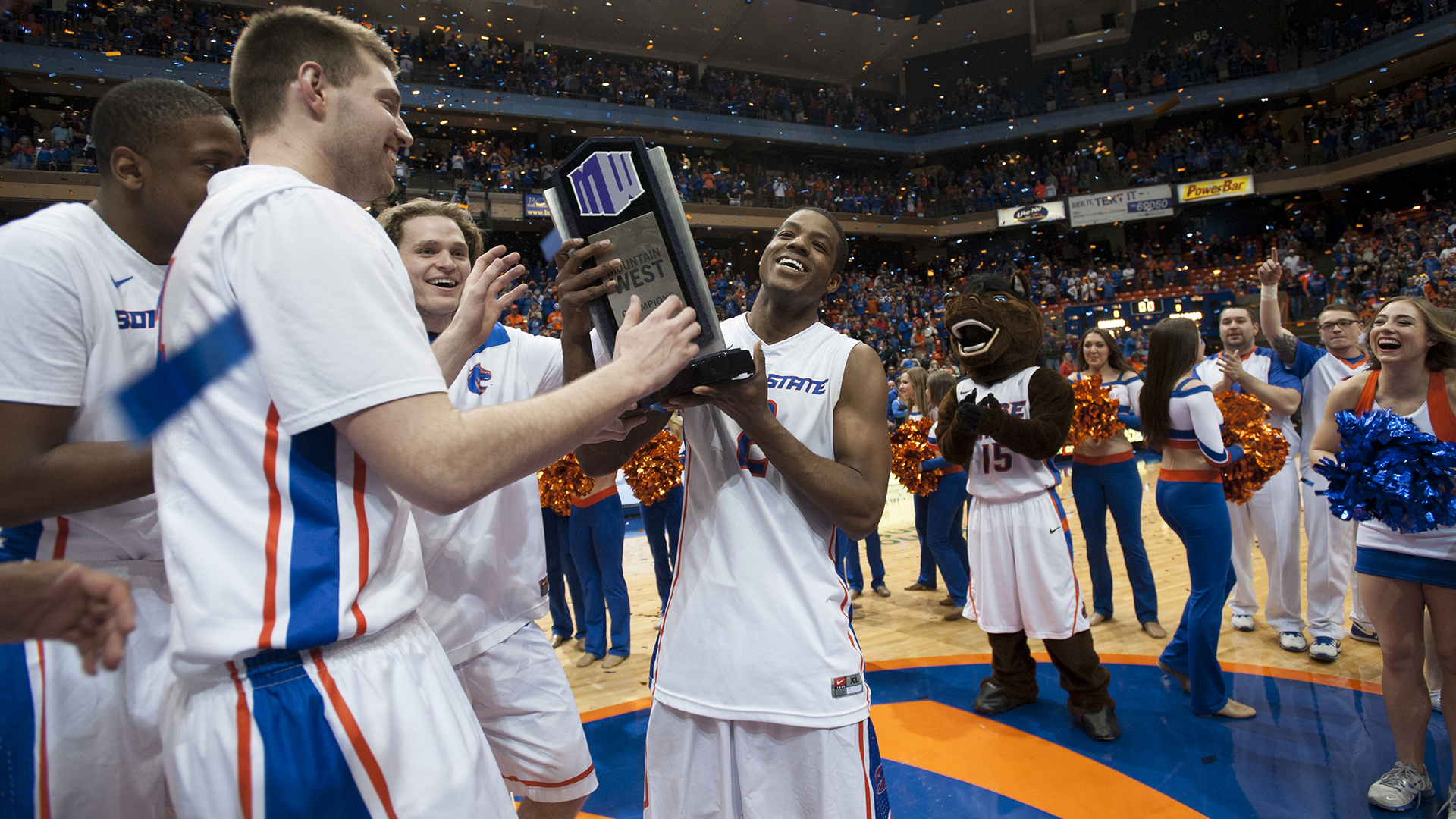 2015: Boise State Basketball wins Mountain West Conference