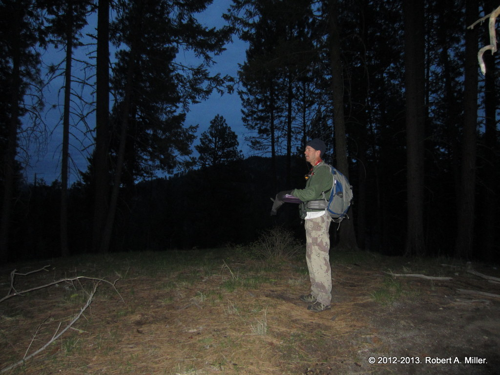 Rob at the start of a day of woodpecker surveys in 2013
