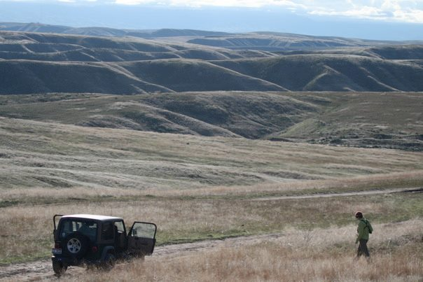 The rolling hills and draws of the ACEC. Photo by Liz Urban