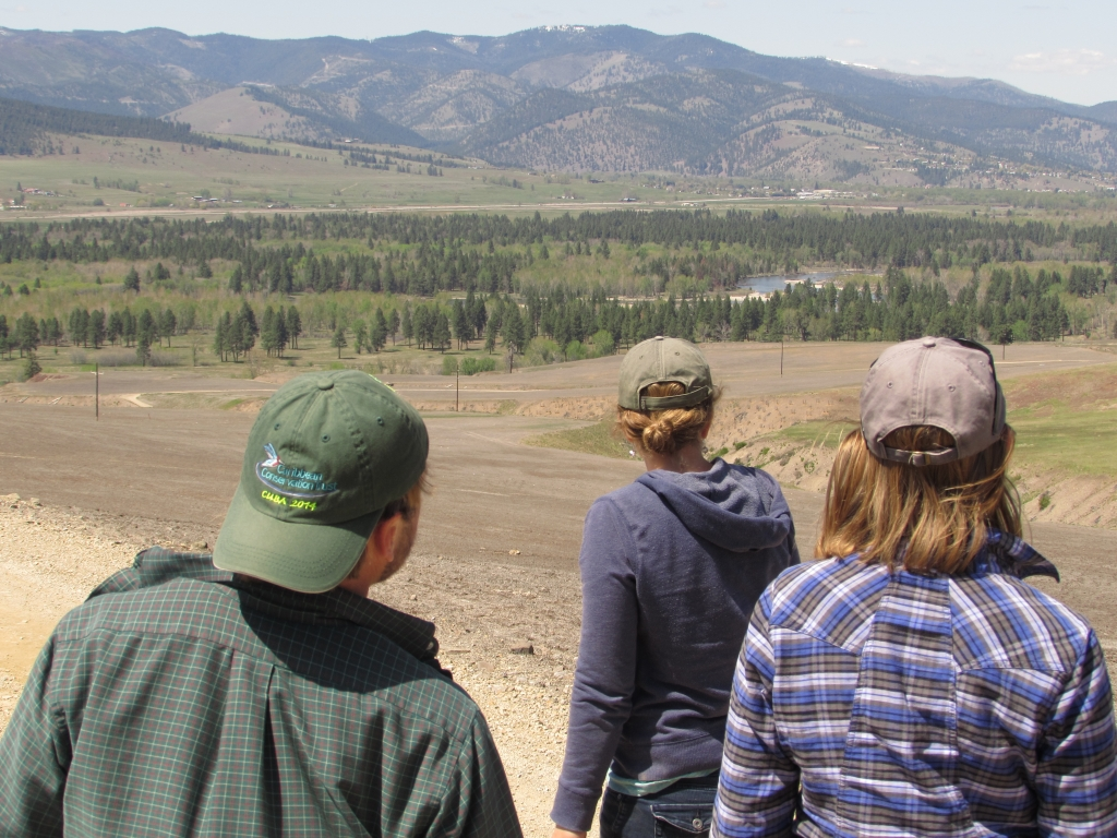 Watching for curlews on the MPG ranch. Photo by William Blake