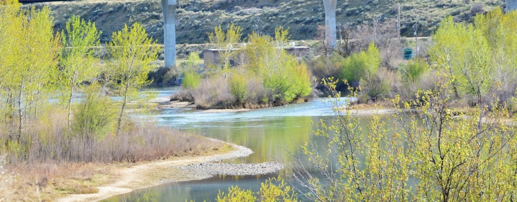 View of Boise River Property. photo by Ken Miracle