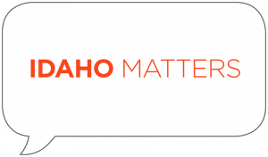 Idaho Matters thought bubble logo