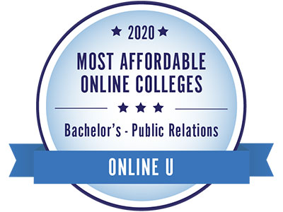 The Integrated Strategic Communications Online program at Boise State University was No. 6 in the US for 2020 Most Affordable Online Bachelor's Public Relations Degrees by Online U.