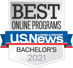 Boise State Online ranked in the near top 10% of best online bachelor degree programs by U.S. News and World Report
