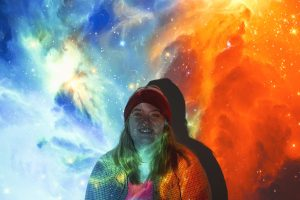 Photo of student graphic designer, Brooke Cassidy