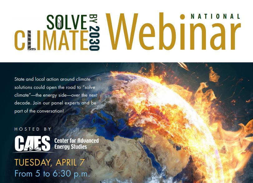 solve climate by 2030 webinar