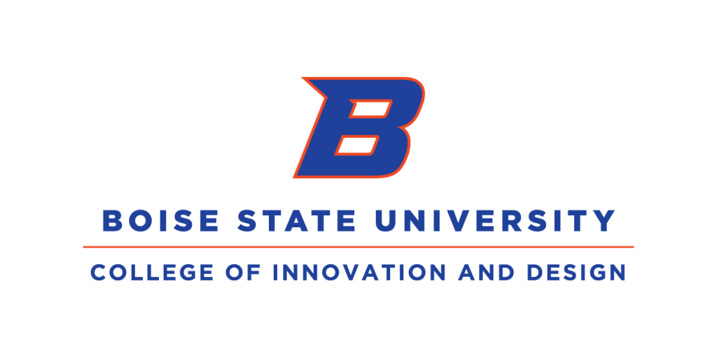 College of Innovation and Design Logo Boise State