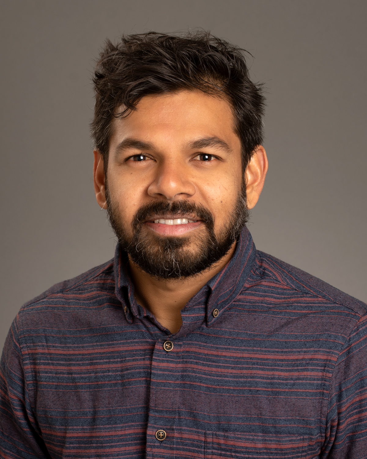 Anand Roopsind, Biology/HES, faculty/staff, studio portrait by Priscilla Grover