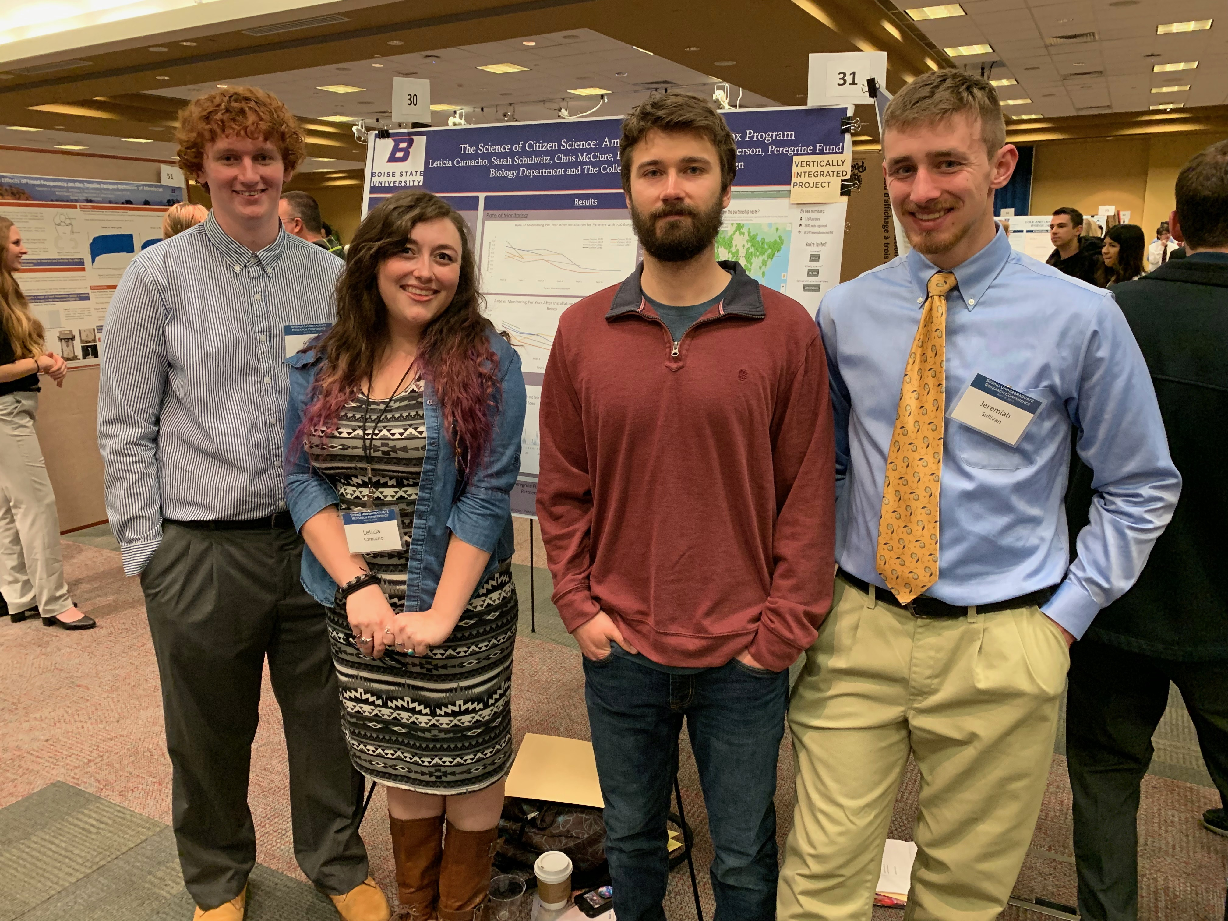 Students at the Undergraduate Research Conference 2019