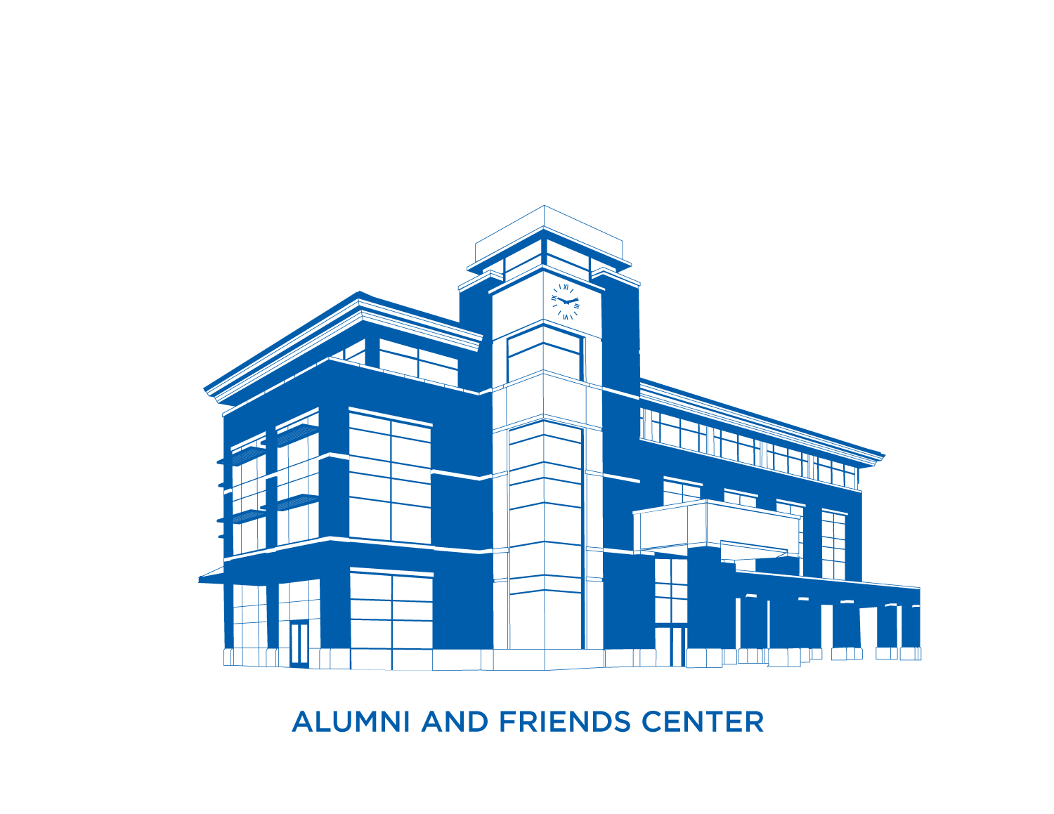 Alumni and Friends Center Rendering