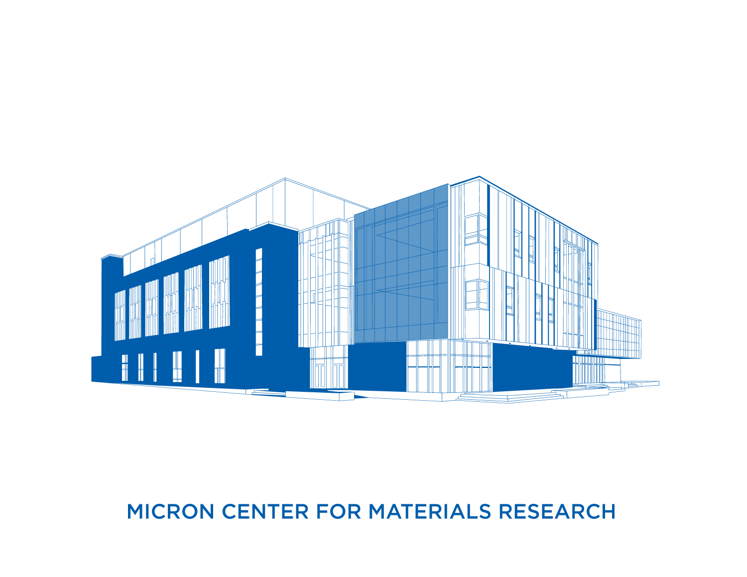 Center for Materials Research Rendering