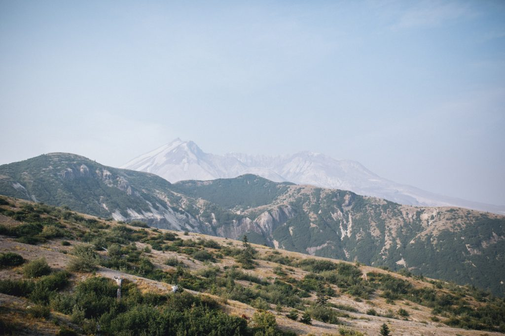 Photo of Mt St Helens