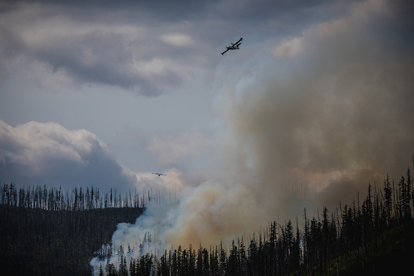 Howe Ridge Fire