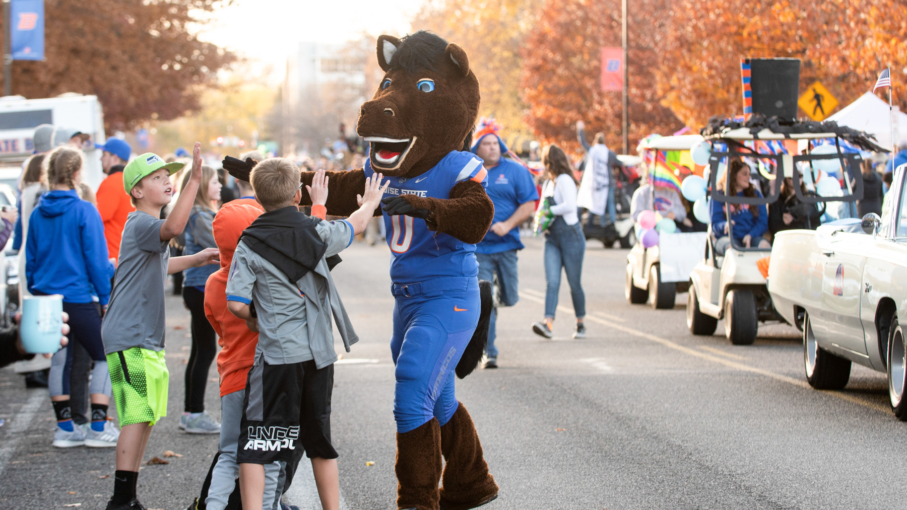 Homecoming Parade, photo by Madison Park