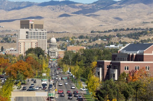 Photo of Boise cityscape