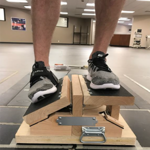 ankle roll guard prototype testing