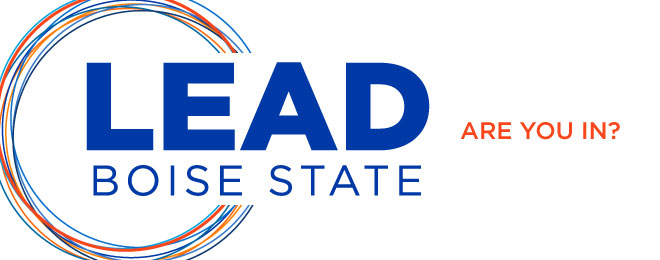 LEAD Boise State. Are you in?