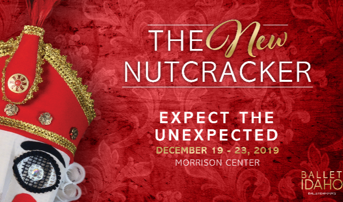 """Performance Graphic for """"The New Nutcracker"""""""