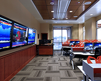 Dykman financial trading room