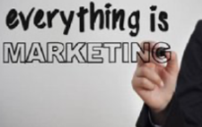 Person wrote Everything is Marketing
