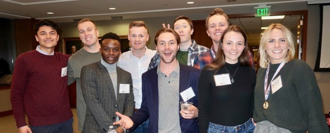 COBE Funding Accelerator interns at the SLC investors choice conference