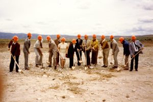 ground breaking for Micron building
