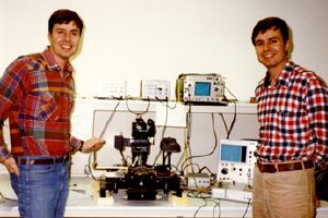 Joe and Ward Parkinson and the first working DRAM chip
