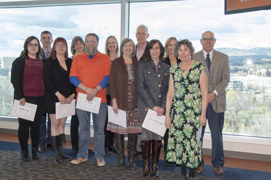 picture of FY19 foundational studies award winners