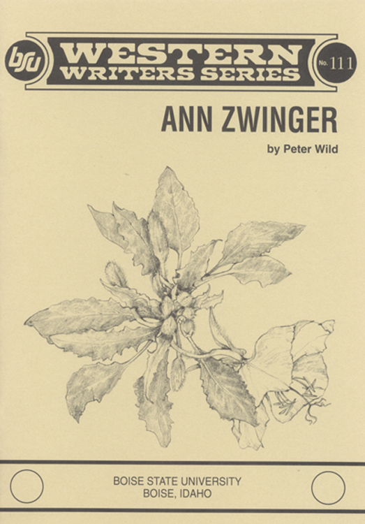 ann zwinger book cover