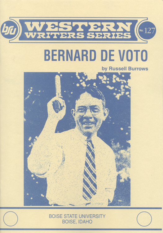 Bernard de voto book cover