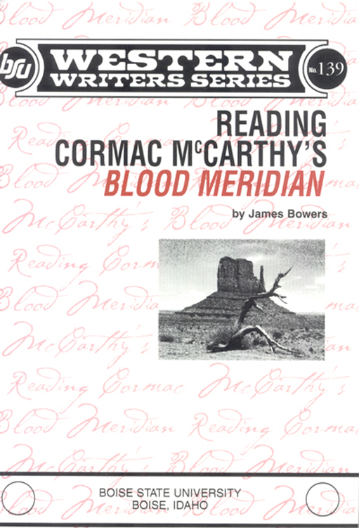 reading blood meridian book cover