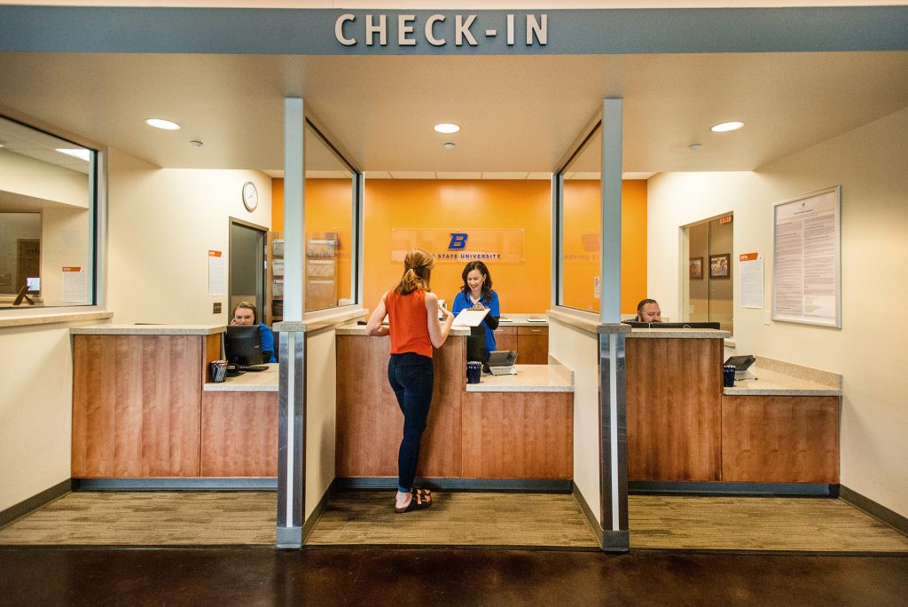Check-In for your appointment on the 2nd Floor of the Norco Building