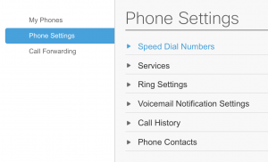 Configure speed dial numbers
