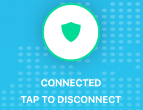 GlobalProtect iOS tap to disconnect