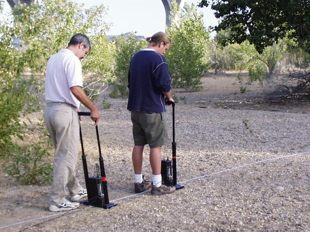 Collecting surface GPR data